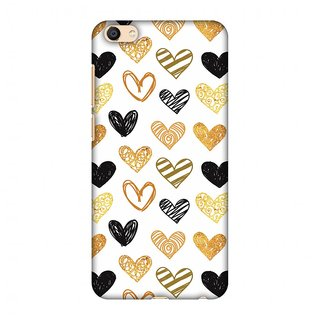Vivo X7 Designer Case I Heart Hearts for Vivo X7