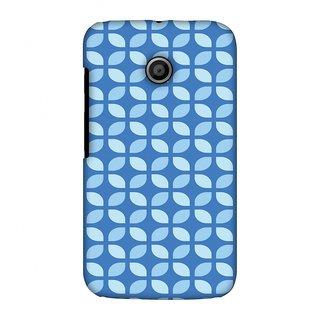 Motorola Moto E XT1022 Designer Case Geometric Flowers 3 for Motorola Moto E XT1022