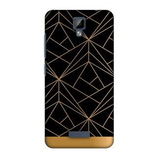 Gionee P7 Designer Case Golden Elegance 2 for Gionee P7