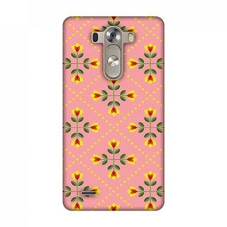 LG G3 D855 Designer Case Pretty Flowers 1 for LG G3 D855