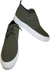 Stylish Men's Casual Shoes Olive Colour