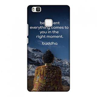 Huawei P9 Lite Designer Case Buddha Quotes 6 for Huawei P9 Lite