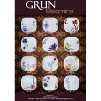 Grun Melamine 34 Pcs Dinner Set