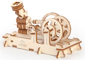 Ugears Pneumatic Engine 3D Mechanical Puzzle