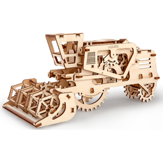 Ugears Combine Harvester 3D Mechanical Puzzle