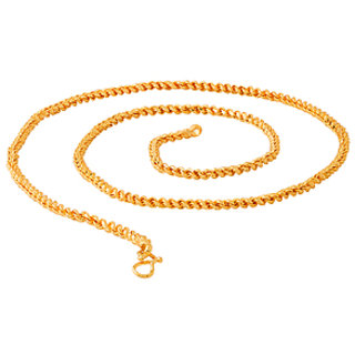 29011205f1ea Buy Twisted Textured Designer Chain For Men Online   ₹291 from ...
