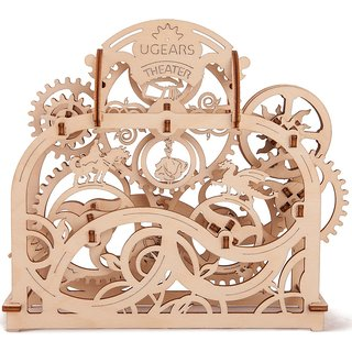 Ugears Theater 3D Mechanical Puzzle