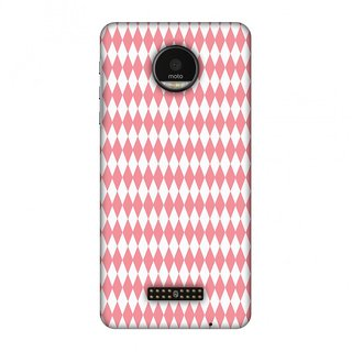 Motorola Moto Z Designer Case Fishtail Pattern for Motorola Moto Z