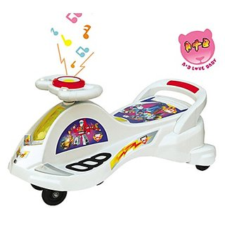 BJ Swing Car Transformer fish rider