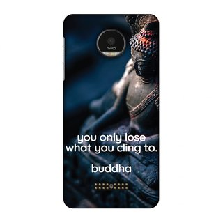 Motorola Moto Z Designer Case Buddha Quotes 3 for Motorola Moto Z