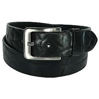 Orosilber Men's Formal Belt - Black