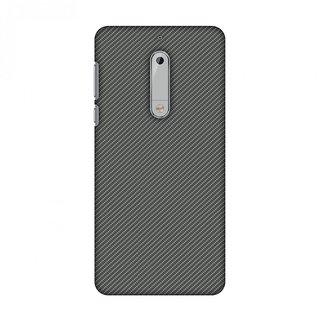 Nokia 5 Designer Case Neutral Grey Texture for Nokia 5
