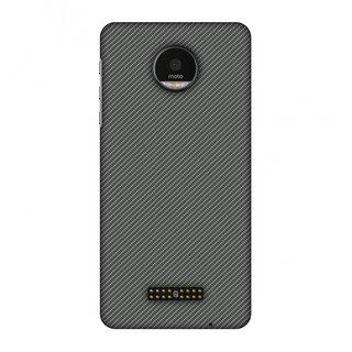 Motorola Moto Z Designer Case Neutral Grey Texture for Motorola Moto Z