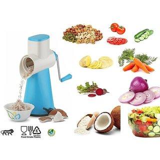 SRK 3 in 1 Vegetable Cutter, Peeler, Rotary Grater Slicer