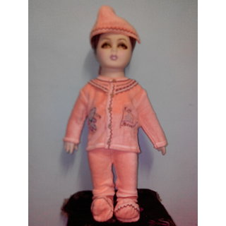 Soft Full sleeves winter suit with cap and booties