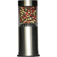 """Chef Pro Stainless Steel 6.5 """" Peppermill & Salt & Pepper Shakers CPM755S"""