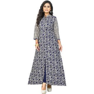 Vaikunth Fabric Kurtis for women (Latest Low Price Designer Party Wear Multicolor Cotton Kurtis For Women-VF-KU-92)