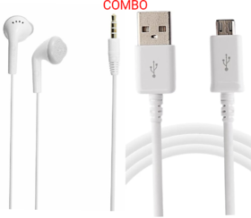 Combo USB headset connect all Smartphones