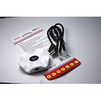 ENTER USB 2.0 High Speed 4 Port SLEEK Hub For LAPTOP NOTEBOOK PC Mac 480 Mbps