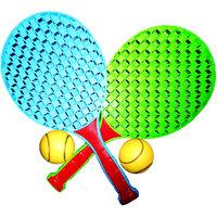 Tennis Championships Outdoor/Indoor Racquet And Balls S