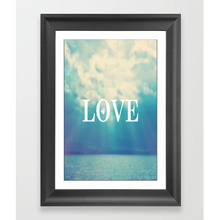 Lovely Nature love poster (12x18 inch)