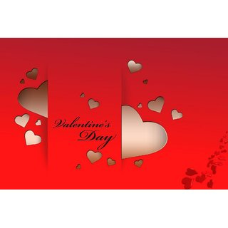 Valentine Day wishing small ( 18x12 inch) poster