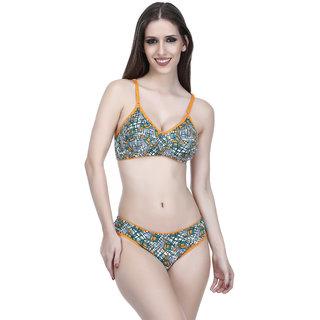 ddeeac5a4f288 Buy Elina Women s Orange Bra   Panty Set. Online - Get 63% Off
