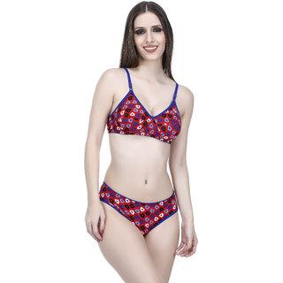 cc53c65585 Buy Elina Women s Blue Bra   Panty Set. Online - Get 63% Off