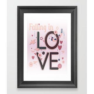 Love digital art poster (12x18 inch)