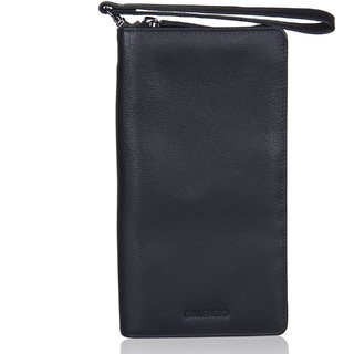Calfnero Genuine Leather Travel Passport Wallet