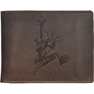 Tamanna Men Tan Genuine Leather Wallet (6 Card Slots)
