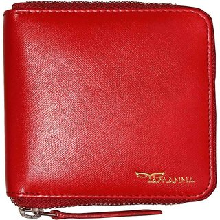 Tamanna Men Red Genuine Leather Wallet  (8 Card Slots)