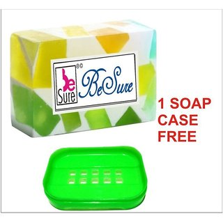 BeSure Mix-Fruit 125g Soap-1 Soap Case Free Bathing Bar 125 gm