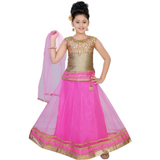 Saarah Pink Lehenga Choli Set