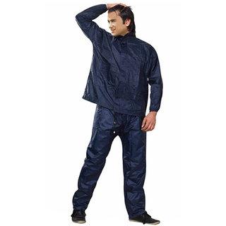 Almos Dark Blue men's Rain Coat
