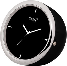 Evelyn Analog Table Clock  Car Dashboard Time Clock Quartz Watch Size 45mm EVT-19