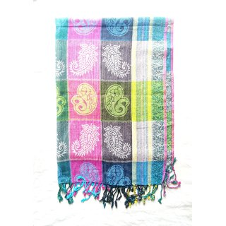 Shawl for women cotton printed