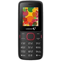 Videocon Dost (V1IA) Dual SIM Basic Phone (Black Red)