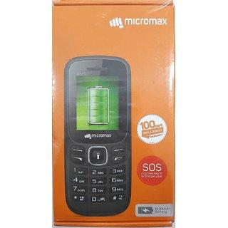 Micromax X570 Dual SIM Basic Phone (Blue)