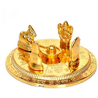 Shiv Parivar Gold Plated