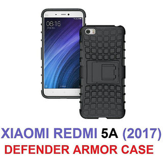 Redmi 5A      KickStand Hybrid Warrior Armor Defender Back Case Cover