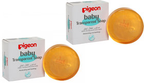 Imported Pigeon Baby Transparent Soap - 2 x 80GM (Combo Pack of 2) Made in Indonesia