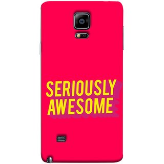FUSON Designer Back Case Cover for Samsung Galaxy Note 4 :: Samsung Galaxy Note 4 N910G :: Samsung Galaxy Note 4 N910F N910K/N910L/N910S N910C N910Fd N910Fq N910H N910G N910U N910W8 (Take Your Dreams Seriously Very Beautiful Best )