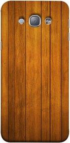FUSON Designer Back Case Cover for Samsung Galaxy A8 (2015) :: Samsung Galaxy A8 Duos (2015) :: Samsung Galaxy A8 A800F A800Y (Unique Wooden Pine Background Vintage Table Tiles)