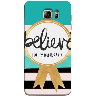 FUSON Designer Back Case Cover for Samsung Galaxy Note 5 :: Samsung Galaxy Note 5 N920G :: Samsung Galaxy Note5 N920T N920A N920I  (Trust Your Self Winner 1St Prize Successful)