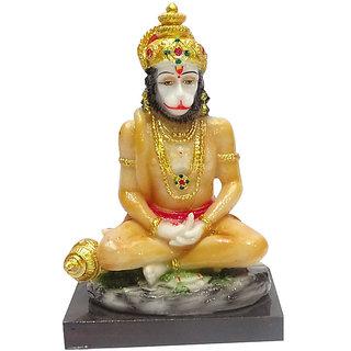 BOON Marble Hanuman Baba Idol