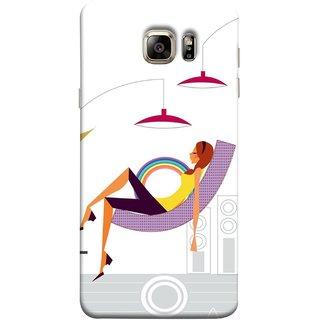 FUSON Designer Back Case Cover for Samsung Galaxy Note 5 :: Samsung Galaxy Note 5 N920G :: Samsung Galaxy Note5 N920T N920A N920I  (Office Lights Shoes Mordern Speakers Beauty Parlor)