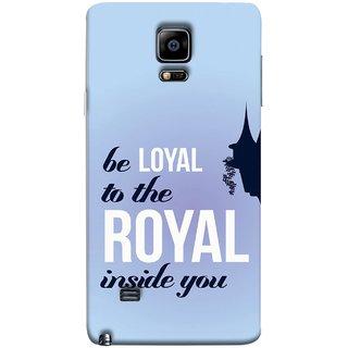 FUSON Designer Back Case Cover for Samsung Galaxy Note Edge :: Samsung Galaxy Note Edge N915Fy N915A N915T N915K/N915L/N915S N915G N915D (Lamppost Hights New Horizon Loyalty Wall Art )