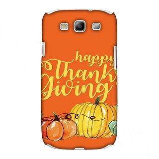 Samsung GALAXY S III GT-I9300 Thanksgiving Designer Case Pumpkin Pattern for Samsung GALAXY S III GT-I9300