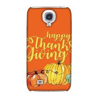 Samsung GALAXY S4 GT-I9500 Thanksgiving Designer Case Pumpkin Pattern for Samsung GALAXY S4 GT-I9500